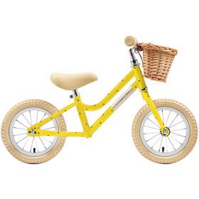 """Creme Mia Rowerek biegowy 12"""" Dzieci, żółty"""